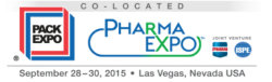 Packaging Exhibition in Las Vagas from September 28 to 30, 2015