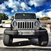 led headlight for Jeep wrangle
