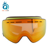 Custom Logo Anti Fog Magnetic Snow Goggles with Interchangeable Strap
