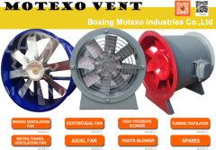 Axial Fan---Motexo Vent