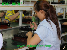 Plastic assembly production line