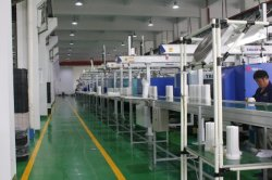 Filter production line