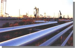 3LPE SSAW Steel Pipe for Gas Transportation