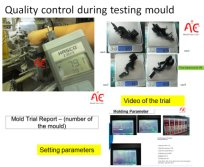 Setting Parameters During Mold Trail