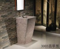 Colors One Piece Ceramic Pedestal Basin