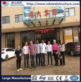 Client who visit our Guangzhou booth visit our factory together