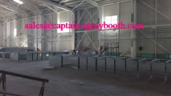 spray booth for aircraft