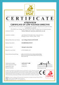 CE certification for halogen lampholder