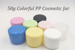50g Colorful PP Cosmetic Jar