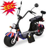 EEC scooter with remove battery