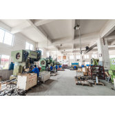 Sheet metal equipment processing workshop