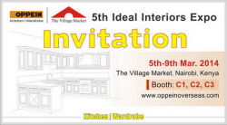 Welcome to the 5th Ideal Interior Expo in Kenya