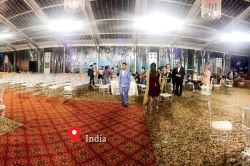India Grand Wedding Party