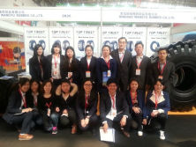 CTF (China International Tire & Wheel Fair) in Qingdao, China
