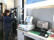 Tensile testing machine for cca wire
