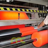 Insulation jumb rolls production