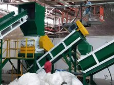 PE PP film recycling washing line