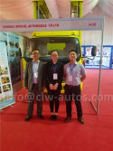 LED Advertising truck in Pakistan Exhibition