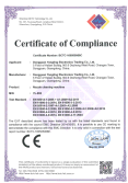 YL-893 Nozzle cleaning machine got CE Certificate