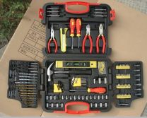 Swiss Kraft 145PC Professional Multi Tool Set with Socket Set