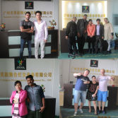 Customers are coming to visit our factory