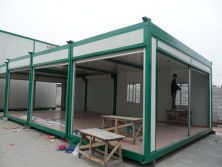 cheap but elegant 20ft prefab container house for sale