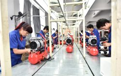 Assembly Line for Oil Free Air Compressors