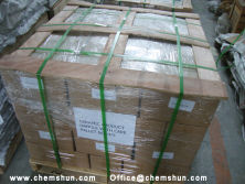 Chemshun Alumina ceramic tile package way