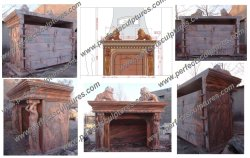 Project Large Fireplace in France (3.7 meter Long x 3.2meter High)