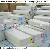 for Wide Format HP Designjet T7100 761 Remanufactured Ink Cartridge