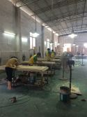 wood door surface sanding solid wooden door factory