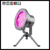 9x3w ip68 stainless steel rgb led underwater light