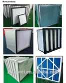 AHU pre filters, bank filters, bag filters, hepa air filters