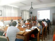 Hebei Huaqi staff attend the Chassis company training