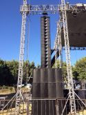 Dual 8inch Three Way Passive Line Array VT4887 out door big events At Mexico On Year 2008