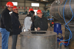 textile wastewater treatment plant visit