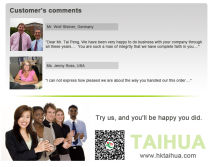 Customer′s comments