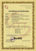 Rohs certificate of wireless power bank