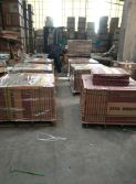 wooden pallet package for porcelain tile