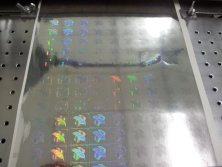 holographic label machine