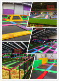 Real Children Commercial Indoor Trampoline Park Pics from MICH Clients