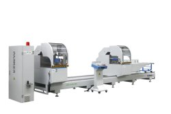 Double head aluminium cutting machine