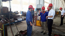 Safety Check by DONGFANG Leaders