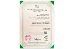 ISO Quality Management System Certification