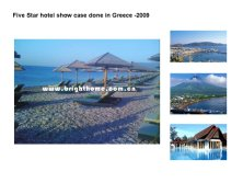 Five Star hotel show case done in Greece -2009