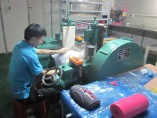 Rubber mixing machine