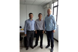 Poland customer visited Shine Dew