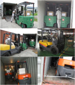 Forklift Packing&Shipping