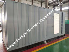 Exported 800KW Container Silent Genset to Thailand