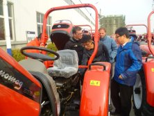 Agentina Client visit for Skid Loaders